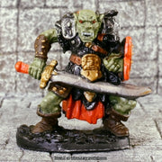 Orc Warrior with Scimitar Miniature