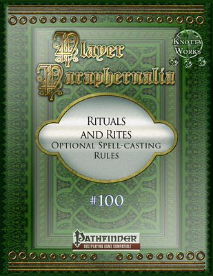 Player Paraphernalia #100 Rituals and Rites, Optional Spell-Casting Rules