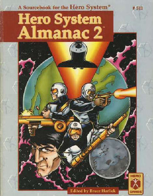 Hero System Almanac 2 (4th Edition)