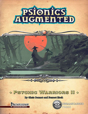 Psionics Augmented: Psychic Warrior II