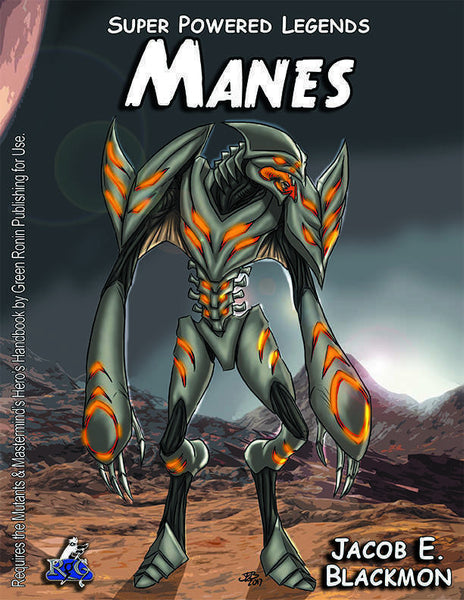 Super Powered Legends: Manes
