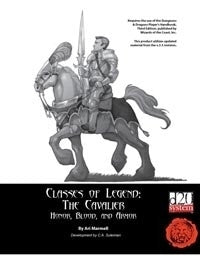 Classes of Legend: The Cavalier
