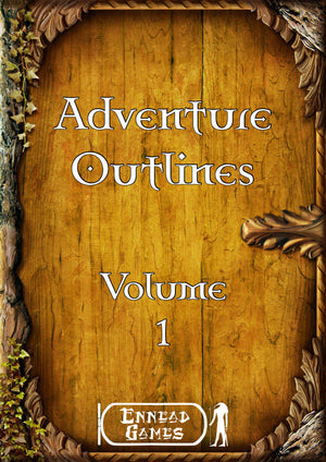 Adventure Outlines - Volume 1