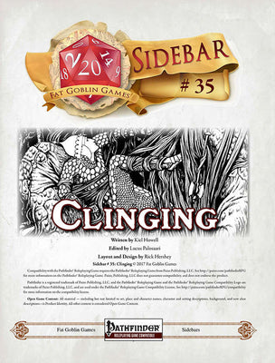 Sidebar #35 - Clinging