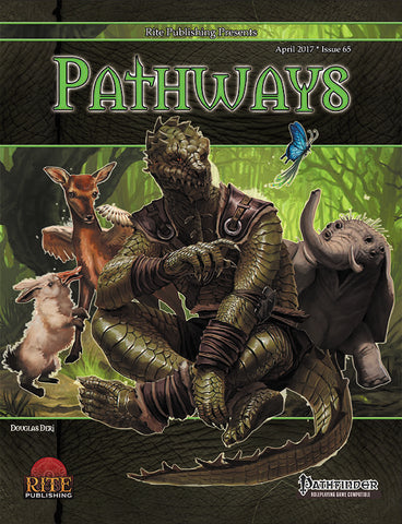 Pathways #65:Menageries (PFRPG)