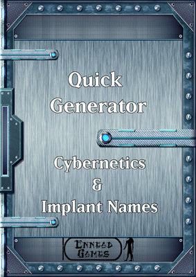 Quick Generator - Cybernetics & Implant Names