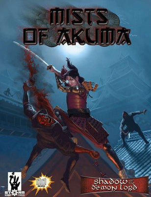 Mists of Akuma: Eastern Fantasy Noir Steampunk for Shadow of the Demon Lord