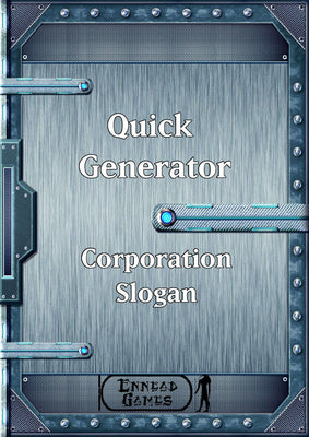 Quick Generator - Corporate Slogan