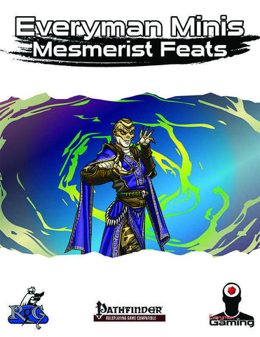 Everyman Minis: Mesmerist Feats