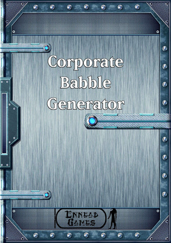 Corporate Babble Generator