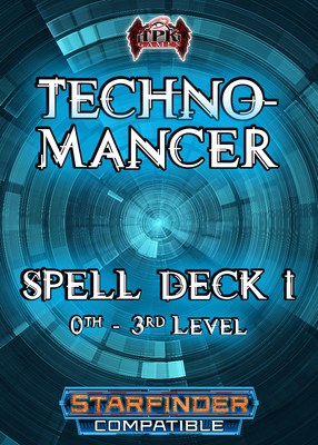 Technomancer Spell Deck I (Starfinder Compatible)
