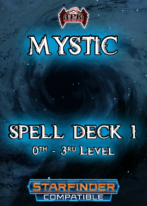 Mystic Spell Deck I (Starfinder Compatible)