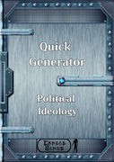Quick Generator - Political Ideology