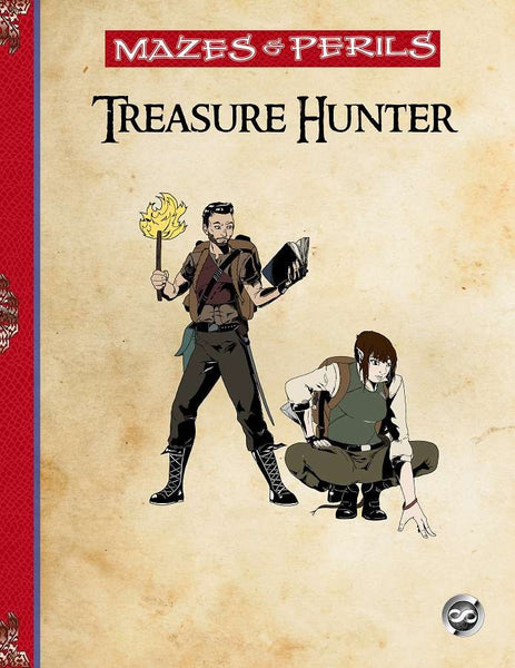 Mazes & Perils: The Treasure Hunter