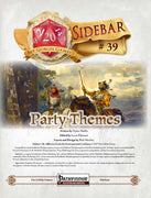 Sidebar #31 - Party Themes!