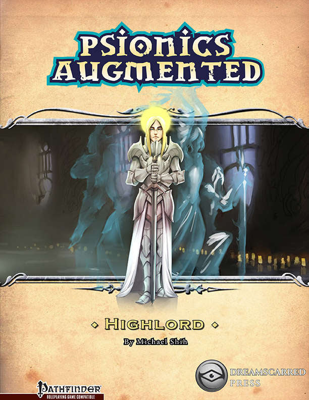 Psionics Augmented: Highlord