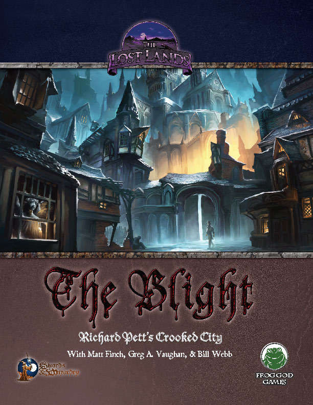 The Lost Lands: The Blight (5th Edition)