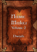 Name Maker 2 - Dwarf