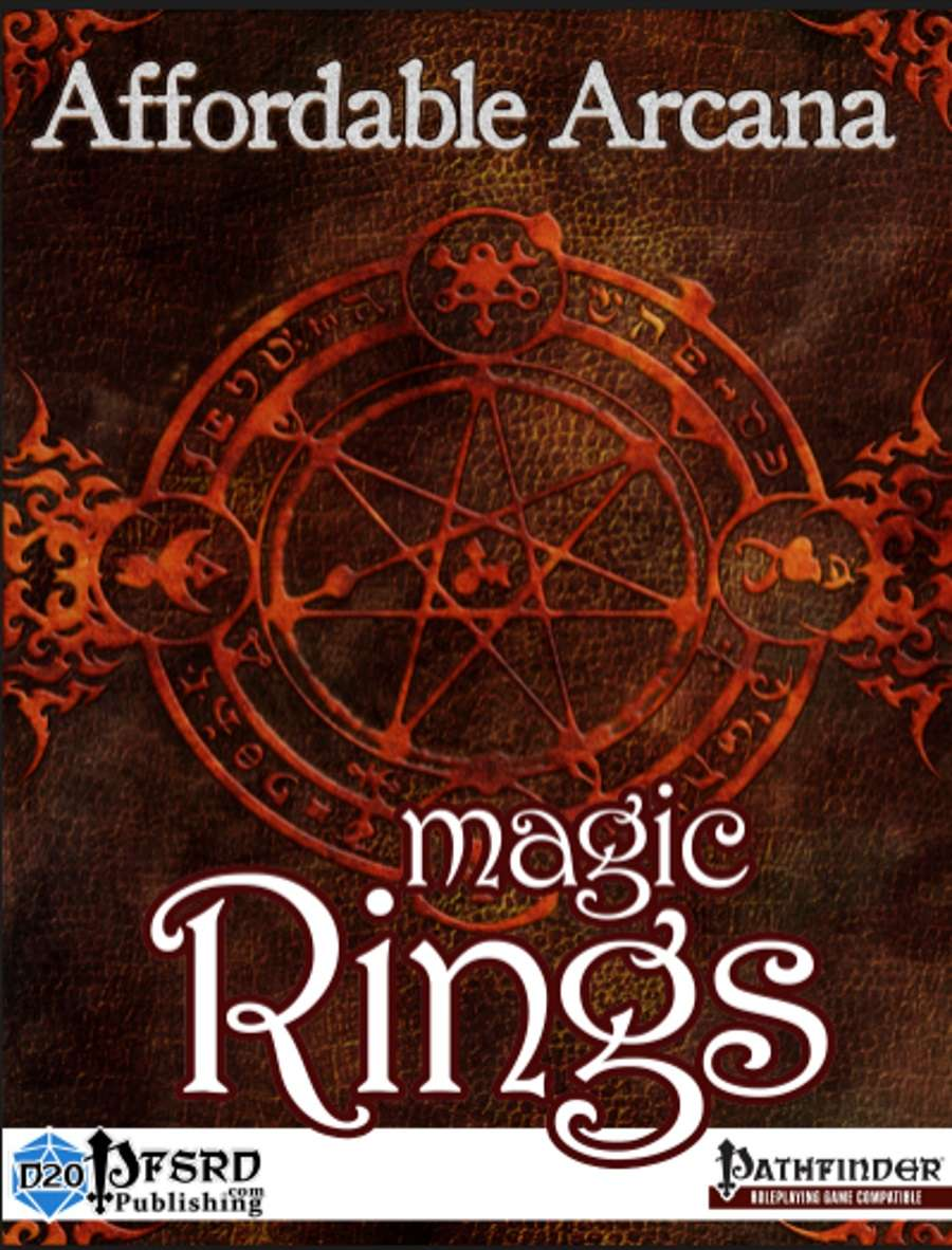 Affordable Arcana - Magic Rings