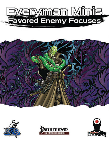 Everyman Minis: Favored Enemy Focuses