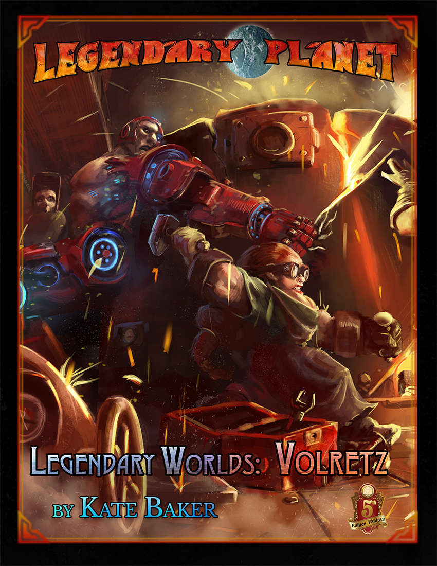 Legendary Worlds: Volretz (5E)