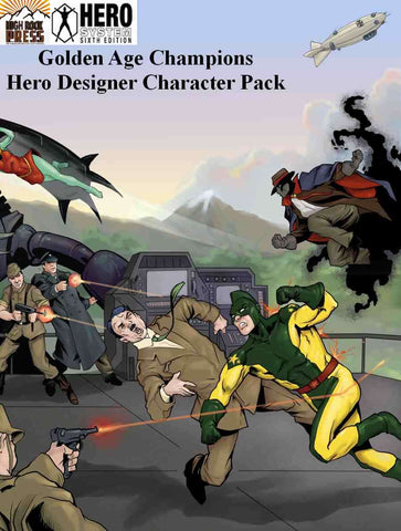 Golden Age Champions Hero Designer Character Pack