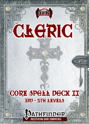 Cleric Spell Deck II (3rd - 5th)