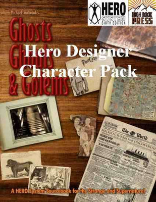 Ghosts, Ghouls, and Golems Hero Designer Character Pack