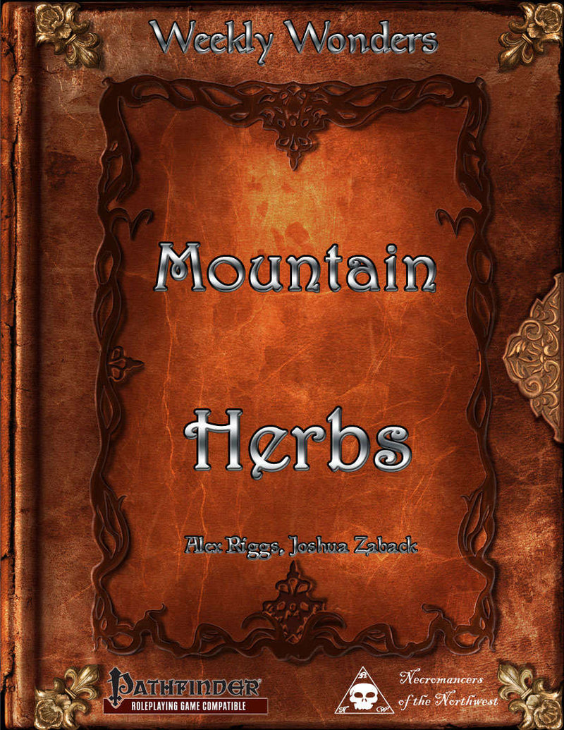 Weekly Wonders - Mountain Herbs