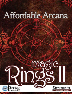 Affordable Arcana - Magic Rings II