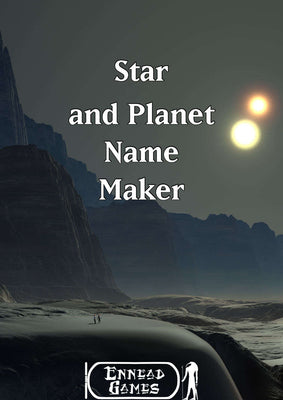 Star and Planet Name Maker