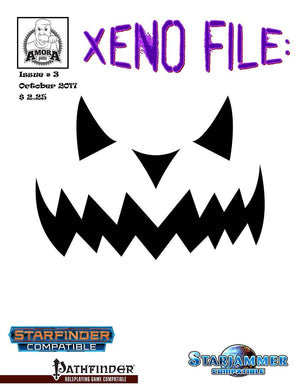 Xeno File Issue 3: Halloween edition