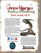 Crawthorne's Catalog of Creatures: Scaled Devil