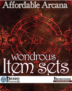 Affordable Arcana - Wondrous Item Sets (PFRPG)