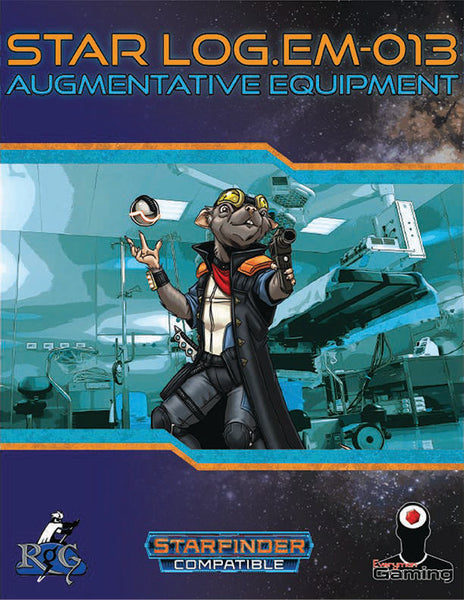 Star Log.EM-013: Augmentative Equipment