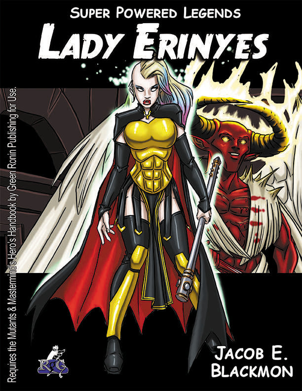 Super Powered Legends: Lady Erinyes