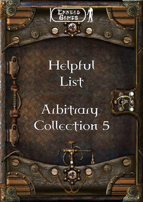 Helpful List Arbitrary Collection 5