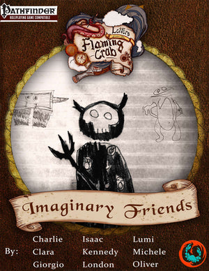 Letters from the Flaming Crab: Imaginary Friends