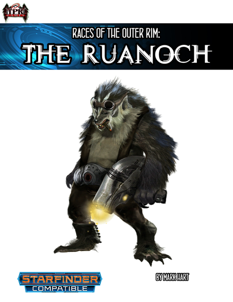 Races of the Outer Rim: the Ruanoch