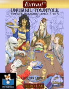 Extras! Unusual Townfolk 5E (level 3 to 5)
