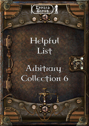 Helpful List- Arbitrary Collection 6