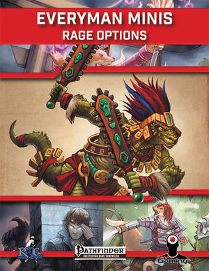 Everyman Minis: Rage Options