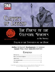 Classes of Legend: Priest of Celestial Sphere