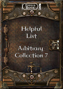 Helpful List - Arbitrary Collection 7