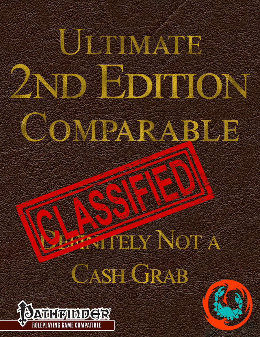 Ultimate 2nd Edition Comparable