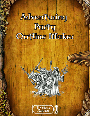 Adventuring Party Outline Maker
