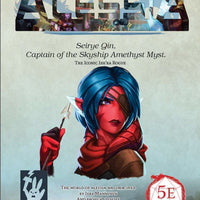 Alessia Promo PDF - Seirye Qin, Captain of the Skyship Amethyst Myst.