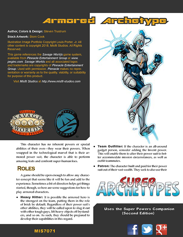 Super Archetypes: Armored