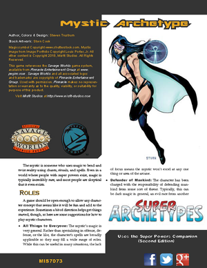 Super Archetypes: Mystic