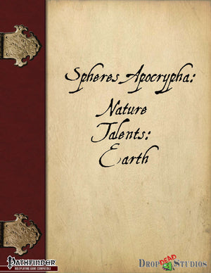Spheres Apocrypha: Nature talents, Earth